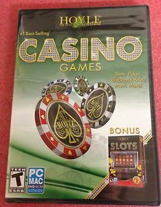 Brand New Hoyle Casino Games 2011 PC Game for Windows and Mac Factory SEALED