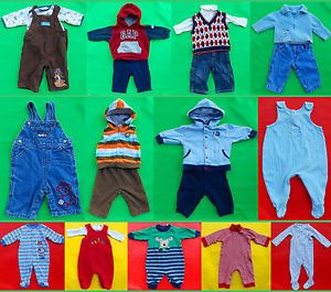 21pcs Gap etc cute baby boys fall winter spring clothing mixed lots size 3 6M