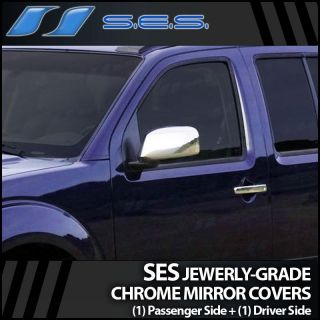 2005 2012 Nissan Pathfinder Ses Chrome Mirror Covers