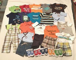 Newborn Infant Baby Boy 3 6 Months Clothes Summer Lot of 26 Pieces