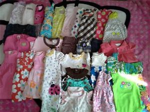 Baby Girl Clothing Huge Lot Clothes Dresses 3 Months Carters Outfits Very Cute