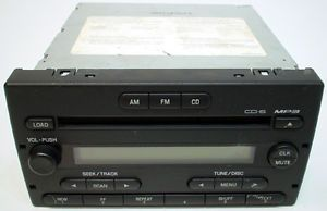 Ford Ranger 2004 Vehicle Model Factory Car Audio Stereo 6 Disc CD  Player