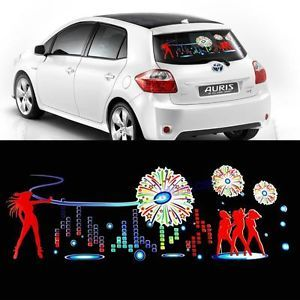 Car Stickers Sound Music Activated Sensor