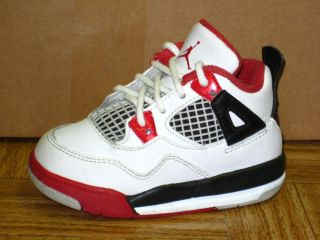 Nike Air Jordan Retro 4 Baby Toddler Shoes Size 6C Paid $65