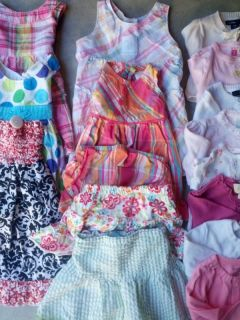 Baby Girl 3 12 Month Dress Cardigan Skirt Lot Sets Pink Quality Gently Used E