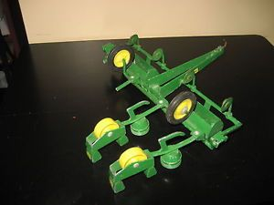 Ertl John Deere Farm Equipment 4 Row Planter Grain Seeder Missing Parts
