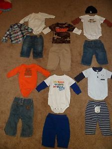 0 3 Months Baby Boy Fall Winter Outfits Clothes 1 Halloween Outfit