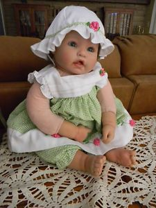 Reborn Doll Girl Toddler Tons of Clothes and Shoes