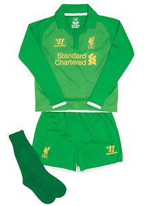 Warrior Kids Baby Boys Liverpool Football Club Home Inf GK Goalkeeper Mini Kit