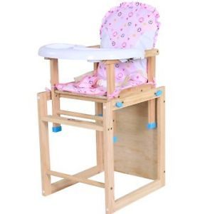 High Chair Baby Chair Baby Table Child Chair Child Desk Wood Wooden