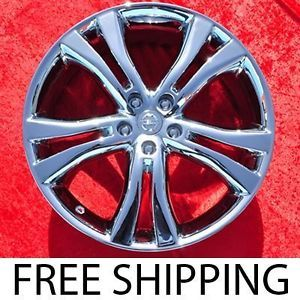 "Set of 4 New Chrome 20"" Nissan Murano Factory Wheels Rims 62518"