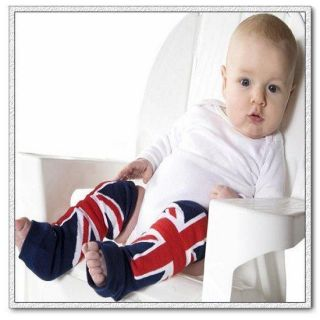 Baby Toddler Kid Leg Warmer Armwarmer Party Cover Socks 0 36M England Flag