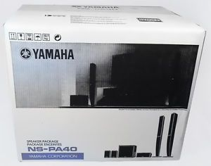 Yamaha NS PA40 5 1 Channel Home Theater Speaker System New NSPA40 w Warranty