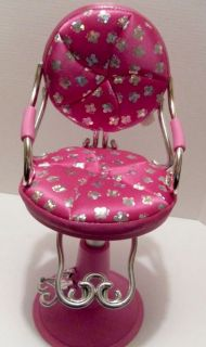 "American Girl 18"" Doll Battat Our Generation Salon Beauty Shop Chair Styling"