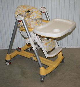 Peg Perego Prima Pappa Diner Baby High Chair Bright Happy Colors Made in Italy