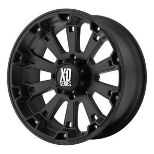 18 inch 18x9 KMC XD Black Wheels Rims 6x5 5 6x139 7 FJ Cruiser Sequoia Tacoma