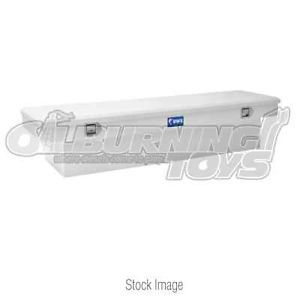 UWS St S70 LP Steel Single Lid Crossover Tool Box 70 in Silver Low Profile