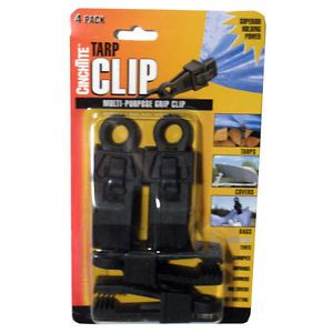 New 20 Tarp Clips Clamp Awning Set Car Boat Cover Tent Tie Down Emergency Snap