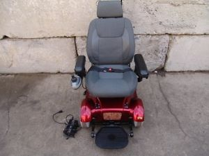 Rascal 318 Electric Wheel Chair Power Chair Scooter Factory Rebuilt Works Fine 6