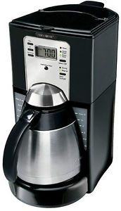 New Mr Coffee 10 Cup Thermal Stainless Steel Carafe Coffee Maker