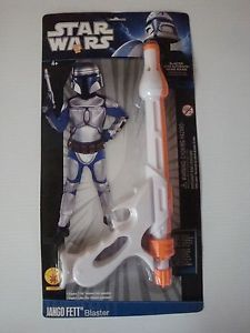Star Wars Jango Fett Blaster Gun Plastic Toy Halloween Costume Prop Accessory
