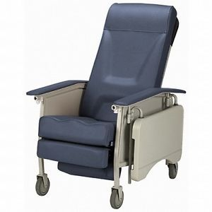 Invacare Deluxe 3 Three Position Geri Chair Medical Clinical Patient Recliner