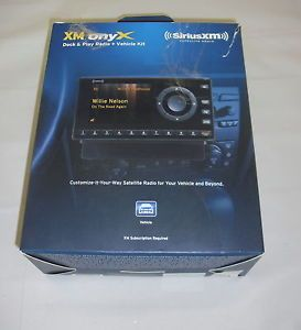 Sirius XDNX1V1 XM Onyx Sirius XM Satellite Dock Play Radio Original Box 778890206849