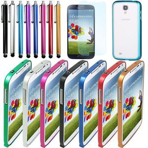 Metal Aluminum Frame Bumper Side Case Cover for Samsung Galaxy S4 SIV I9500