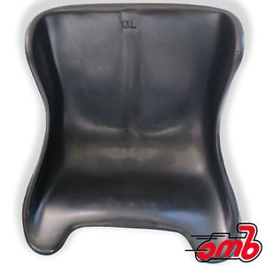 "Double XL Black Renegade Plastic Sprint Seat Go Kart Racing 16"" Wide"