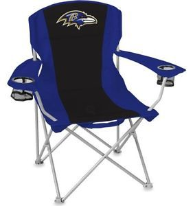 Baltimore Ravens XL Big Boy Folding Cooler Chair Coleman Tailgate Seat