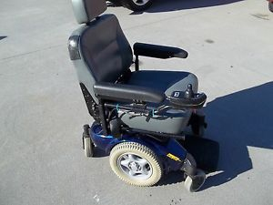 Invacare Pronto M91 Heavy Duty Power Chair Blue