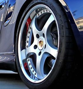 Porsche 19 Wheels Rims 997 996 991 C2 C4 Turbo C4S 3pc Custom Forged Carrera 911