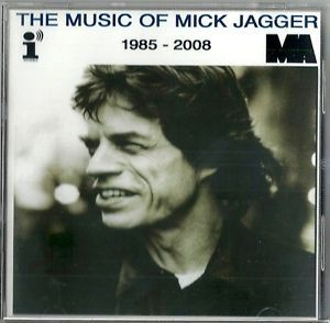 Music of Mick Jagger Rolling Stones RARE Publishing Promo CD