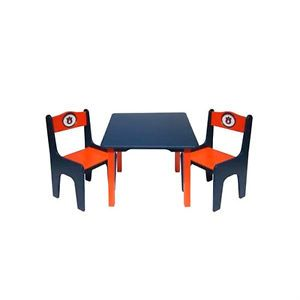 Auburn University Logo Children's Childs Kids Table with Two Chairs