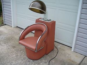 1988 Virgo Condition Air Beauty Shop Salon Hair Dryer Chair