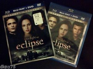 The Twilight Saga Eclipse Blu Ray DVD 2010 Special Edition with Slipcover
