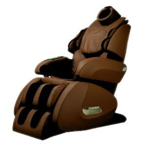 New Fujita KN9003 Zero Gravity Massage Chair with Foot Roller Latte