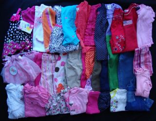 Huge Lot Baby Toddler Girls Clothes Spring Summer Size 12 Months