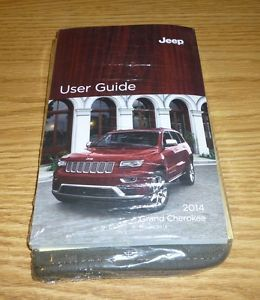 2014 Jeep Grand Cherokee User Guide Owners Manual Set DVD SRT8 w Case 14 New