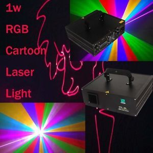 Support SD Card 1W RGB DMX Laser Light DJ Stage Party Lighting Equipment