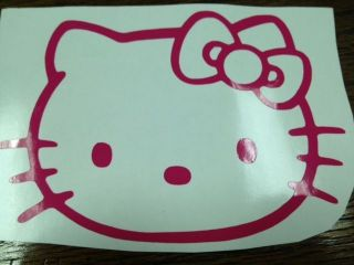 Hello Kitty Car Decal Sticker Party Supply Wall Decor Personalized Cricut
