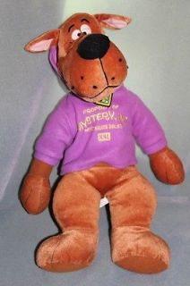 "Scooby Doo 24"" Huge Plush Toy Doll in Purple Sweatshirt"