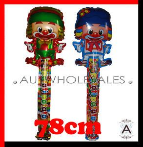 Circus Clown Patata Patati Long Balloon Birthday Party Supplies 1pc