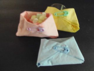 Baby Shower 40 Diaper Game Favor U Choose Color and Type