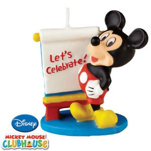 Mickey Mouse Candle Cake Topper Party Supplies Wilton