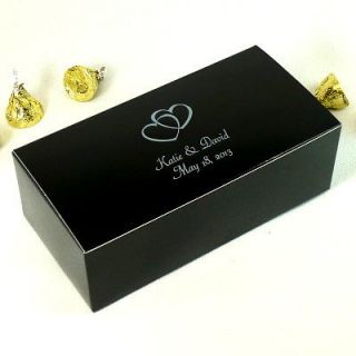 Personalized Wedding Favor Candy Treat Gift Box 6x3x2 100 Bxs