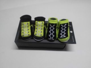 Nike Air Jordan Baby Infant Boys Crib Shoes Booties Socks 0 6 M Newborn New