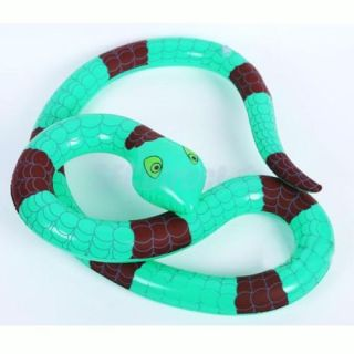 Long Stretch Snake Inflatable Beach Pool Toy Party Favors Wild Nature Education