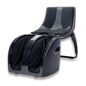 Foldable Inada Massage Massager Chair Cube Legs Calves Feet Foot Black MSRP $999