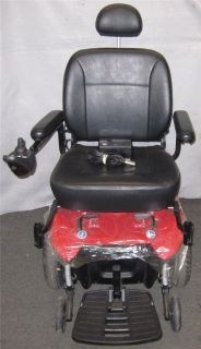 Pride Jazzy Select HD Heavy Duty Power Chair Red Pickup Only